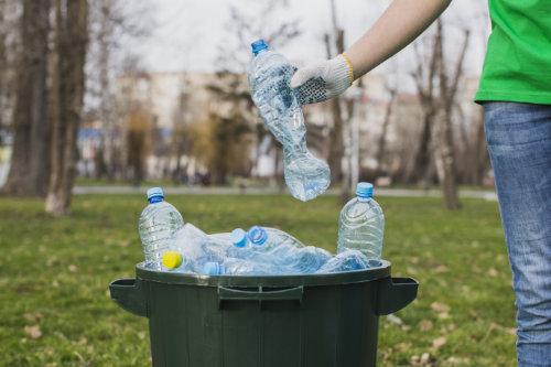abfall sammeln